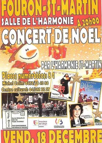 Concert de Noël à Fouron-Saint-Martin