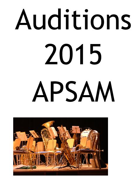 2015 Auditions